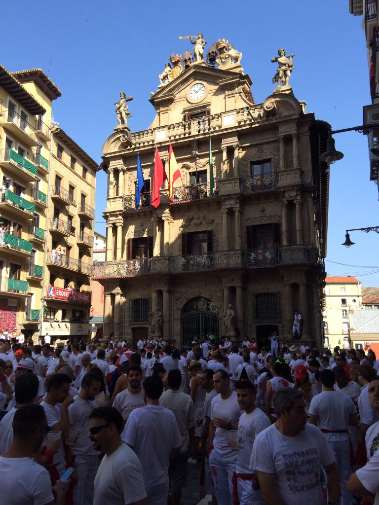 San Fermin Opening Ceremony