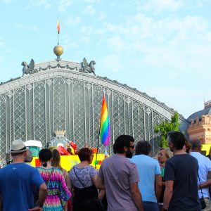 Atocha Train Station during Gay Pride | Madrid