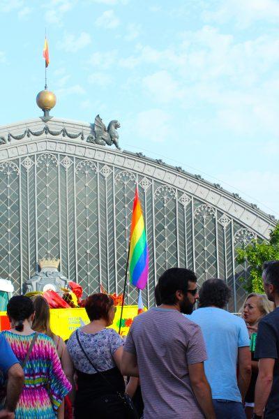 Atocha Train Station during Gay Pride | Madrid