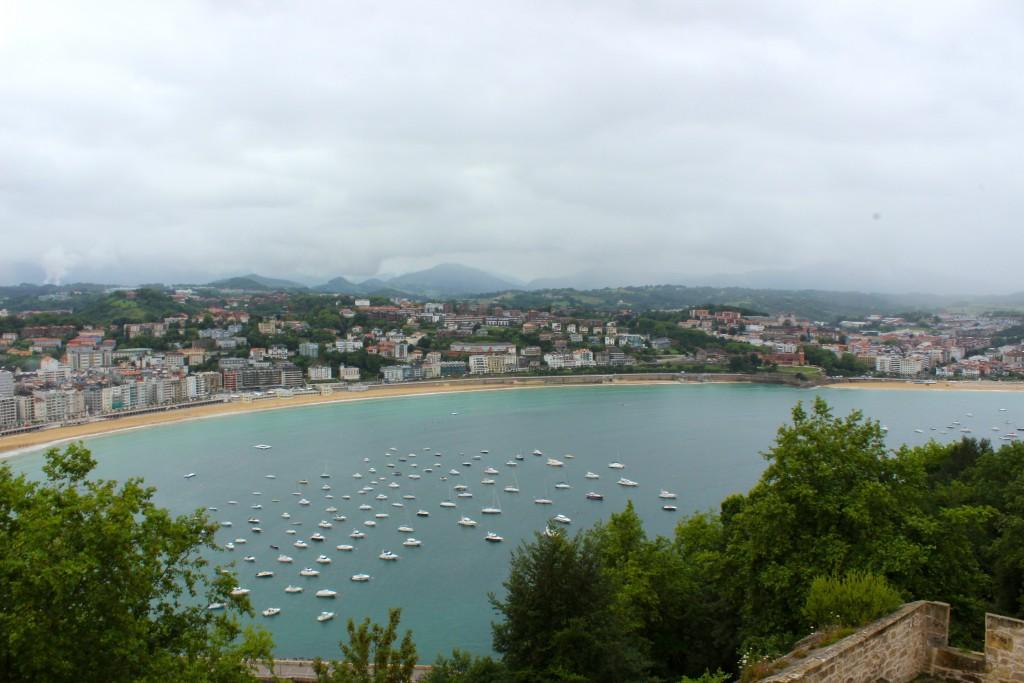 The View from Mount Urgull | San Sebastian