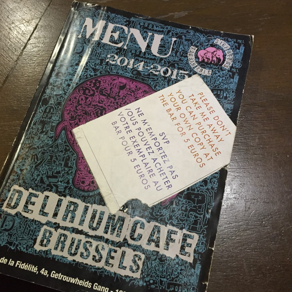 Delirium - Brussels   Choose from thousands of beers