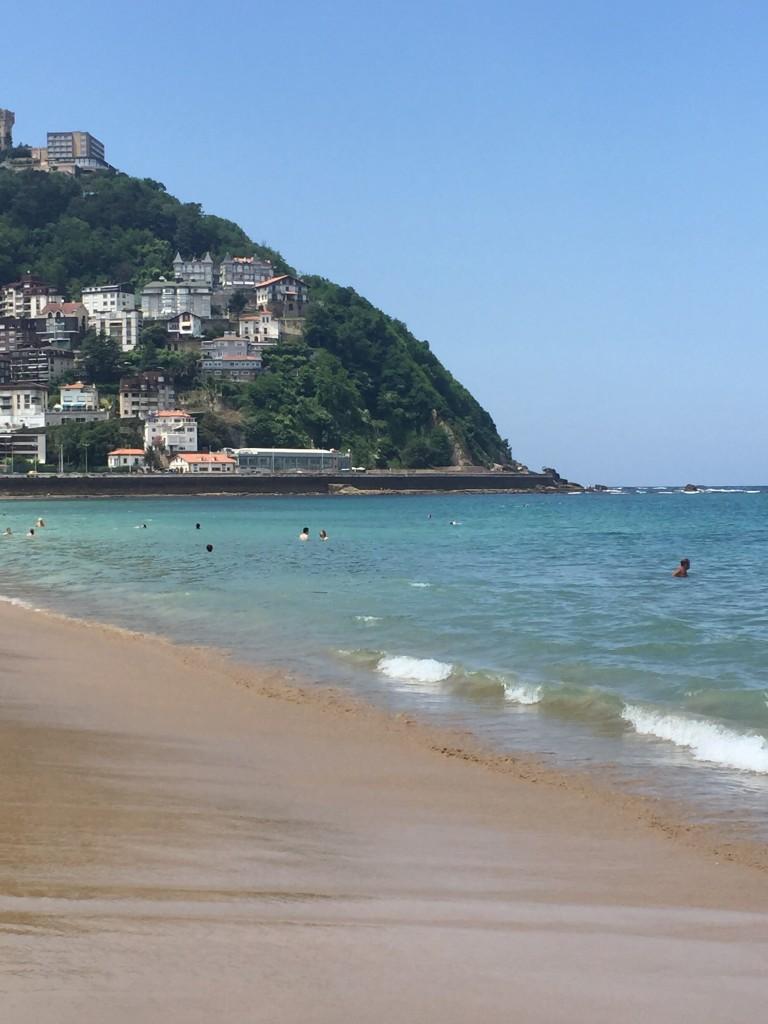 Ondaretta Beach - San Sebastian