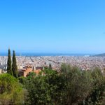 Barcelona views form Park Guell