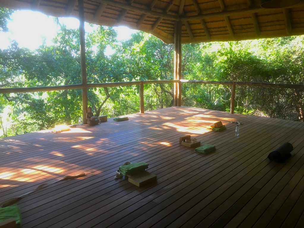 Yoga at Londolozi