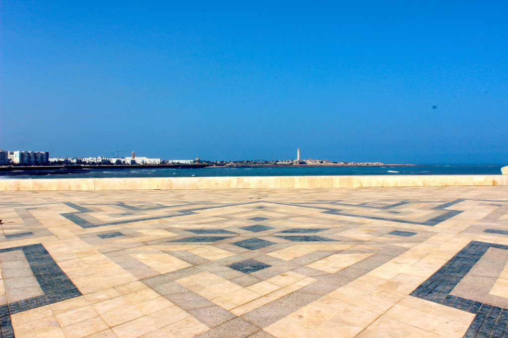 Casablanca shore view