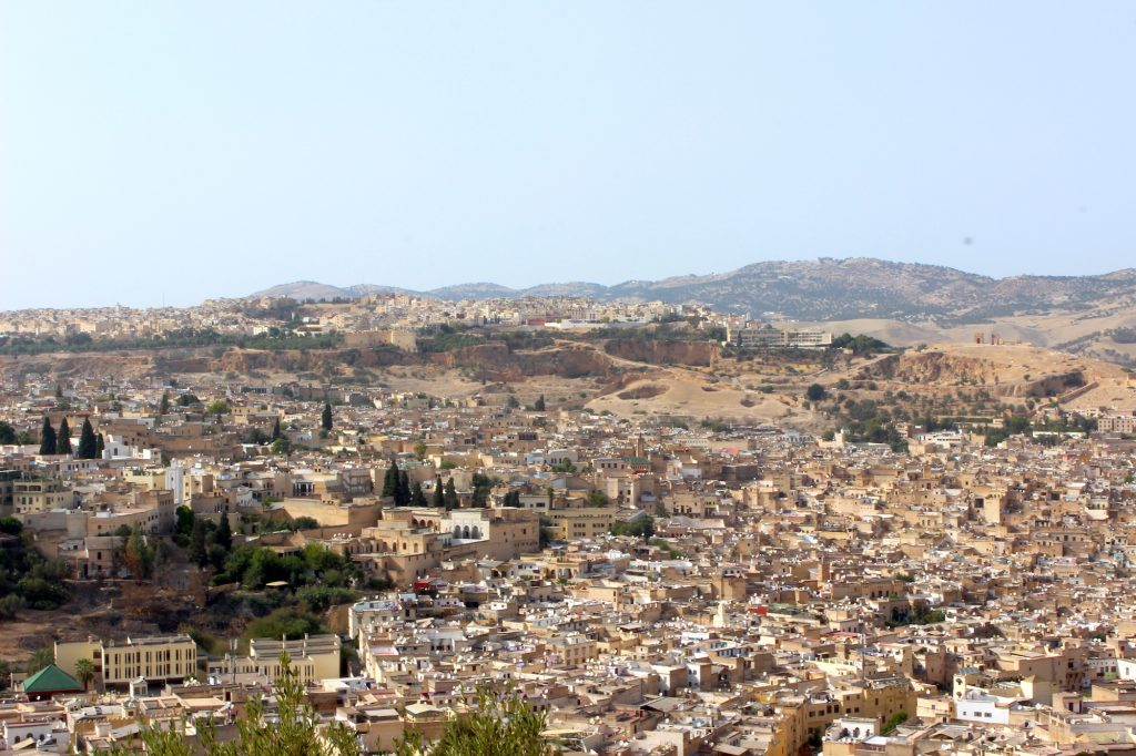 Fez from above