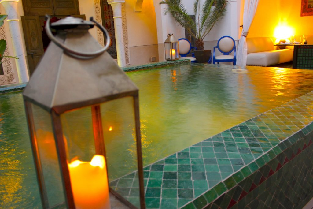 Candlelight at Riad Farnatchi
