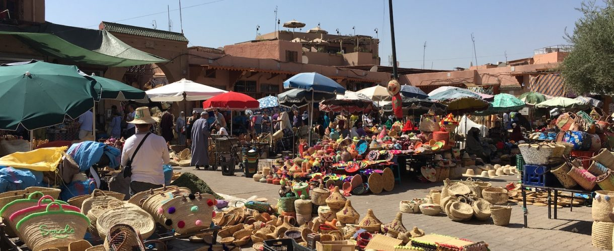 Visiting Marrakech + Riad Farnatchi