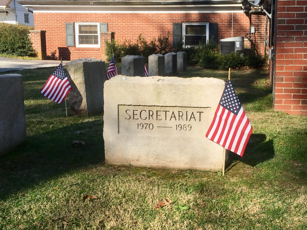 Secretariat grave