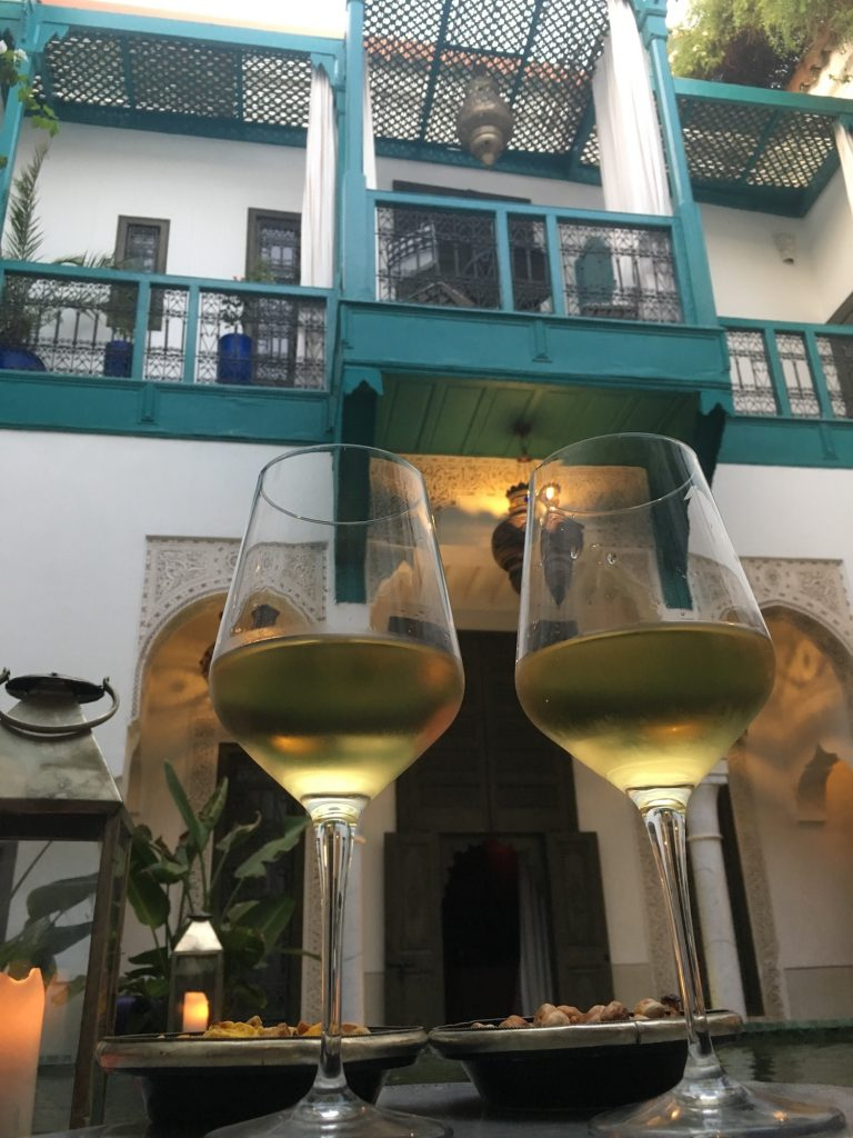 Cheers from the riad