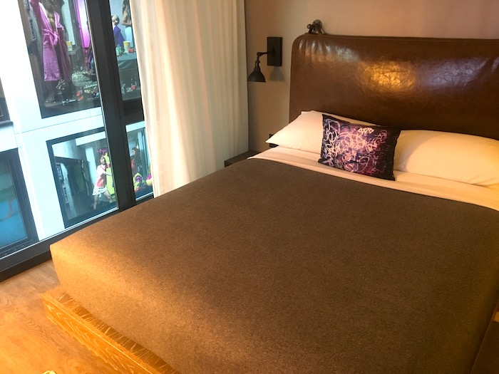Comfy beds at Moxy