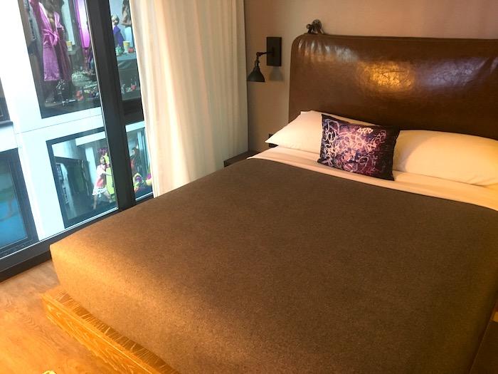 Comfy beds at Moxy