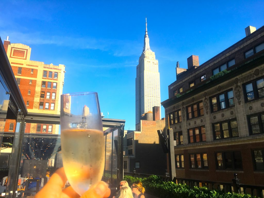 Magic Hour Rooftop Bar at Moxy Times Square (NYC)