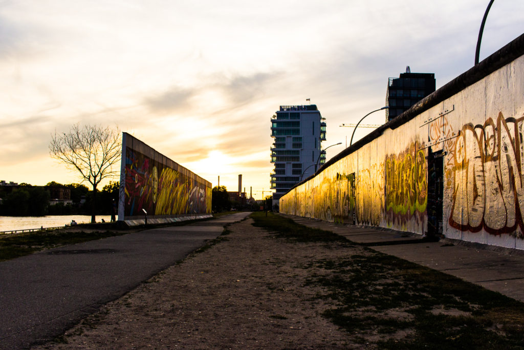 East Side Gallery of the Berlin Wall