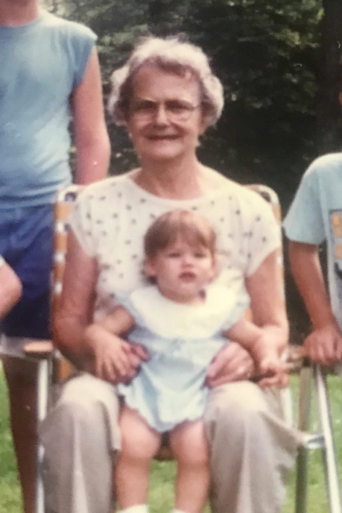 Me and my great-grandmother