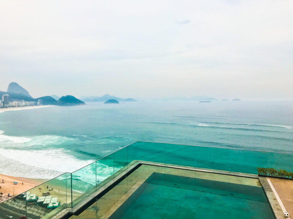 Views from Hotel Miramar, Copacabana