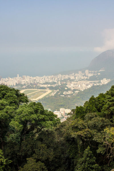 View of Rio from Christ Redeemer